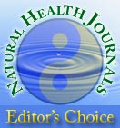 Natural Health Journals Editors Choice Award